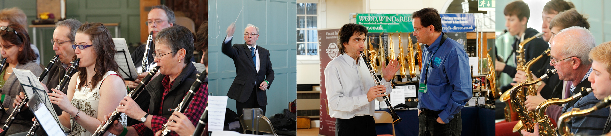 Clarinet and Saxophone Society Images;