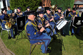 Band of The Royal Yeomanry recruiting clarinet and sax players