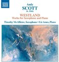 Westland :  works for saxophone and piano